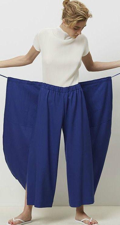 8bc09c18957 Как сшить юбку-брюки с запахом  модели