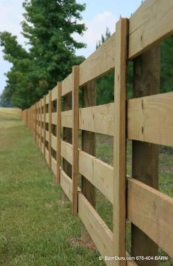 horse fencing. I would only put 3 boards with electric inside pasture