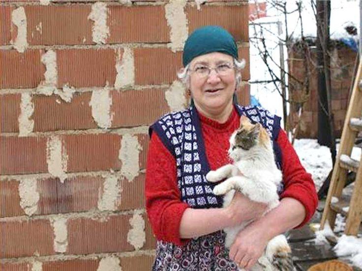 Kedilerin Nuriye teyzesi