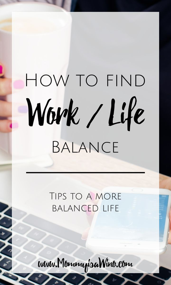 How to Find Work Life Balance. Learn how to find work life balance with these tips to a more balanced life.