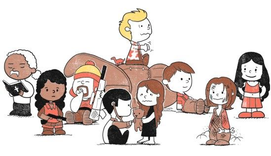 Adorable Firefly Peanuts Mash-Up