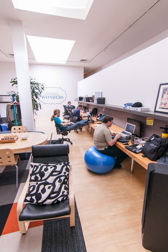 17 best images about office refresh ideas on pinterest for Zynga office design