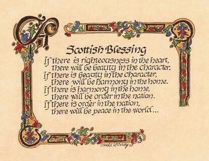 Scottish Blessing