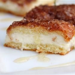 Sopapilla Cheesecake. Delicious! Great for a Mexican Fiesta dinner party.