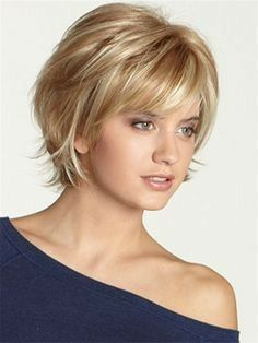 I want this.. | hare | Elegant short hair, Short hair with bangs, Short hair with layers