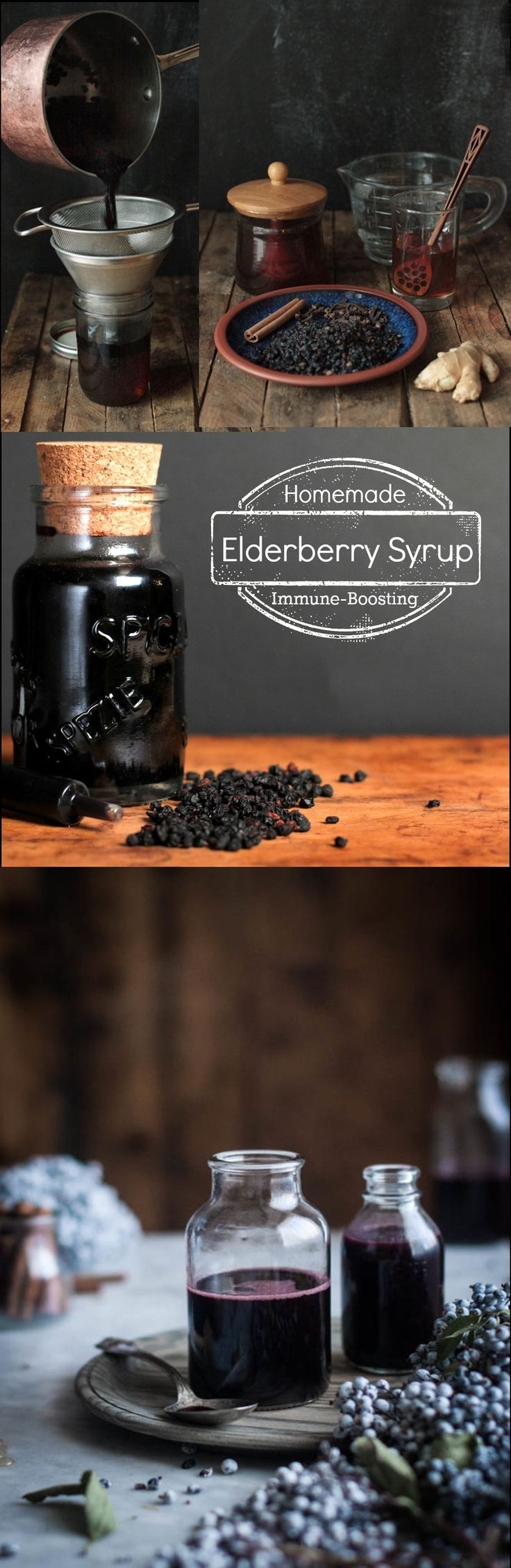 NEVER FALL SICK AGAIN! THE ELDERBERRY SYRUP RECIPE THAT CAN CURE A COLD OR FLU IN 3 DAYSv - Book For Healthy Life