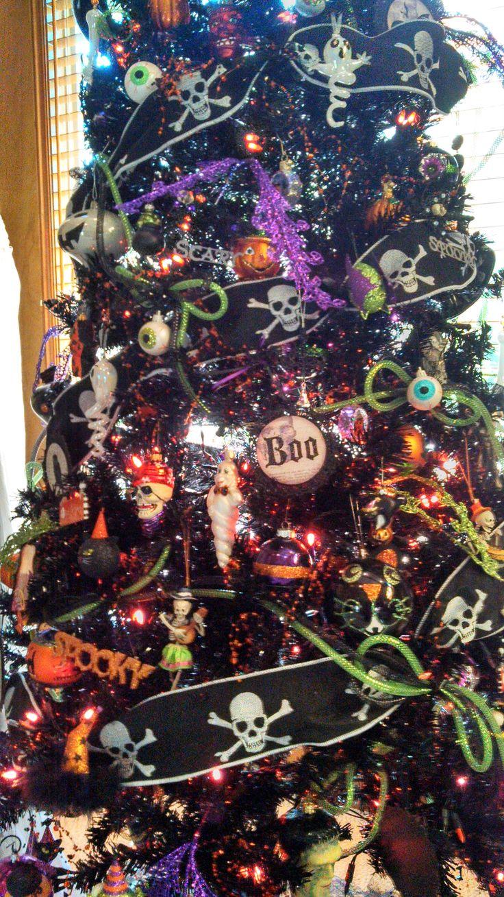 93 best Halloween Trees images on Pinterest