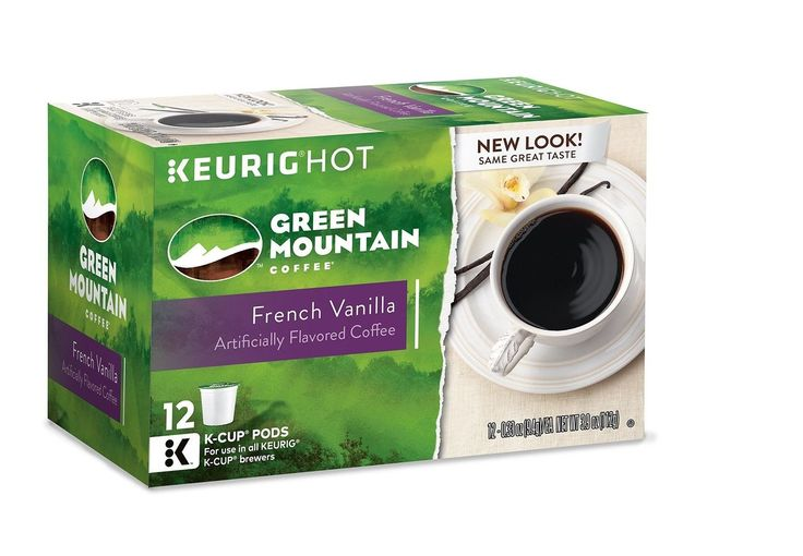 Green Mountain Coffee French Vanilla Keurig K-Cups 72 Count