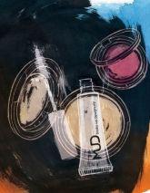 Illustration by #AliciaMalesani © 2016  www.traffic-nyc.com  #mud #makeup #blush #beauty #beautyroutine #beautytime #illustration