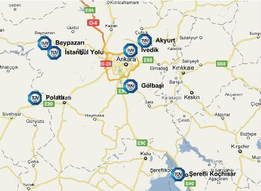 Ankara Araç Muayene Randevu