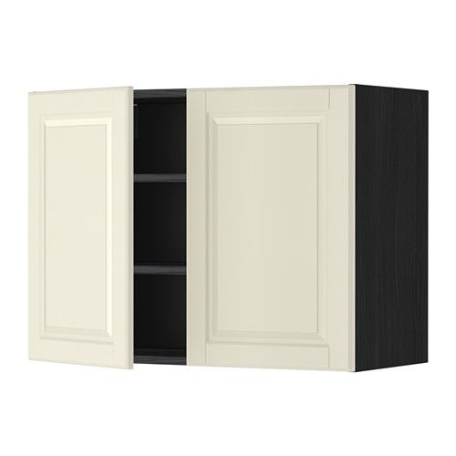 МЕТОД Навесной шкаф с полками/2дверцы IKEA Съемная полка – организуйте место для хранения в соответствии с вашими потребностями.