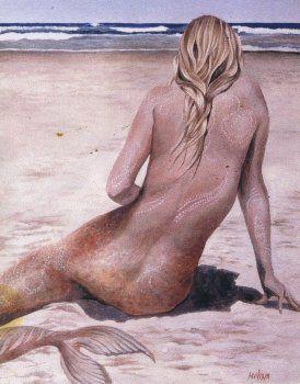 Mermaid from Cachagua