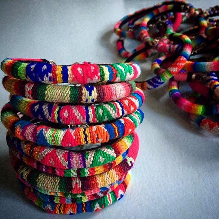 Peruvian Bracelets by Lot One Studio (www.lotonestudio.com)