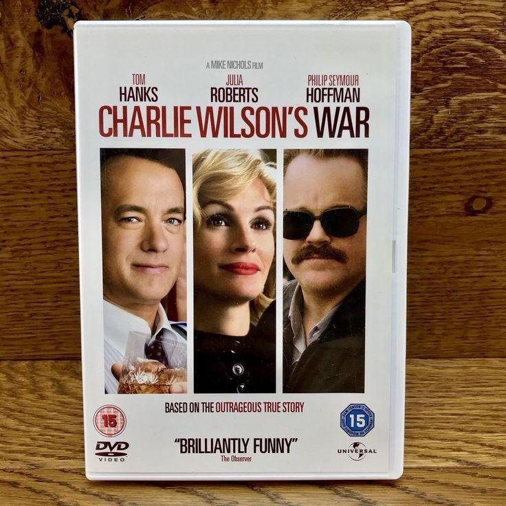 Charlie Wilson's War Dvd Film Movie Tom Hanks Julia Roberts true story region 2