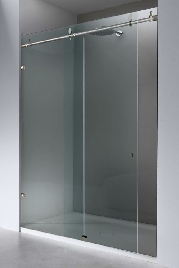 Chic And Modern You New Metro Shower Door Glides Open And Shut