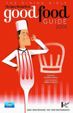 Cover of the SMH Good Food Guide 2014.