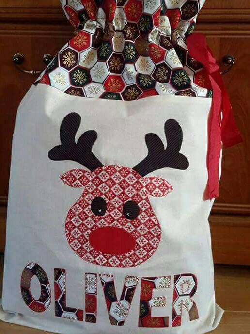 Check out this item in my Etsy shop https://www.etsy.com/uk/listing/252117629/personalised-santa-sack-large-christmas