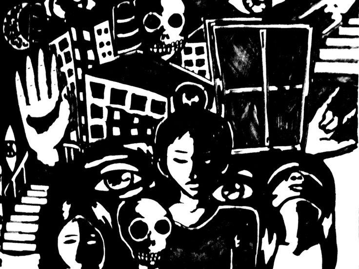 Psycho by AlexandraAugustin.deviantart.com on @DeviantArt