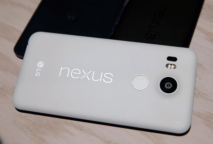 The new Nexus 5X phone is displayed during a Google media event on September 29, 2015 in San Francisco, California. Google unveiled its 2015 smartphone lineup, the Nexus 5x and Nexus 6P, the new Chromecast and new Android 6.0 Marshmallow software features.