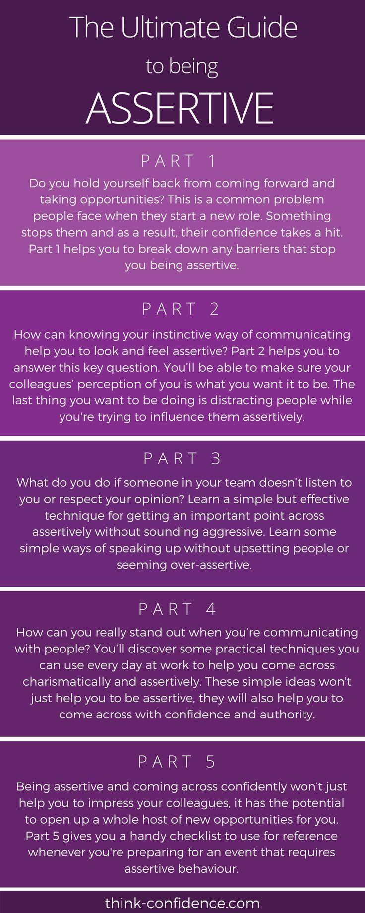 how to be assertive and get what you want