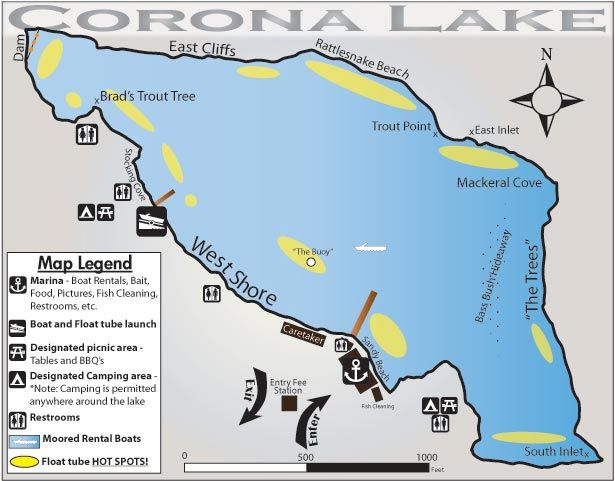 36 best we love corona images on pinterest corona dos for Lake temescal fishing