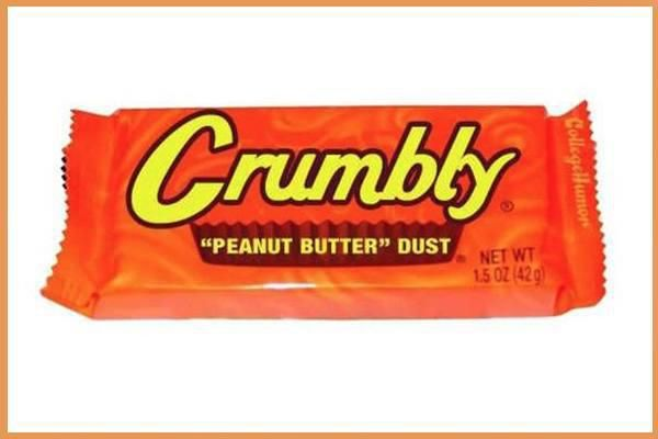 At first glance, it might just look like your typical candy bar.  But when you inspect it, you'll notice the candy bar names are replaced with random ramblings of funny.  Not going to lie, I'm a little disappointed there wasn't a snickers bar joke.