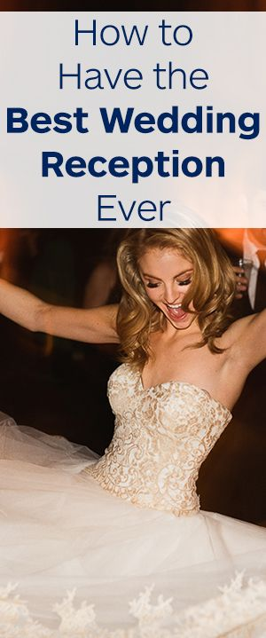 Learn how to plan the best wedding reception of all time! Tips, trends, and an incredible playlist included.