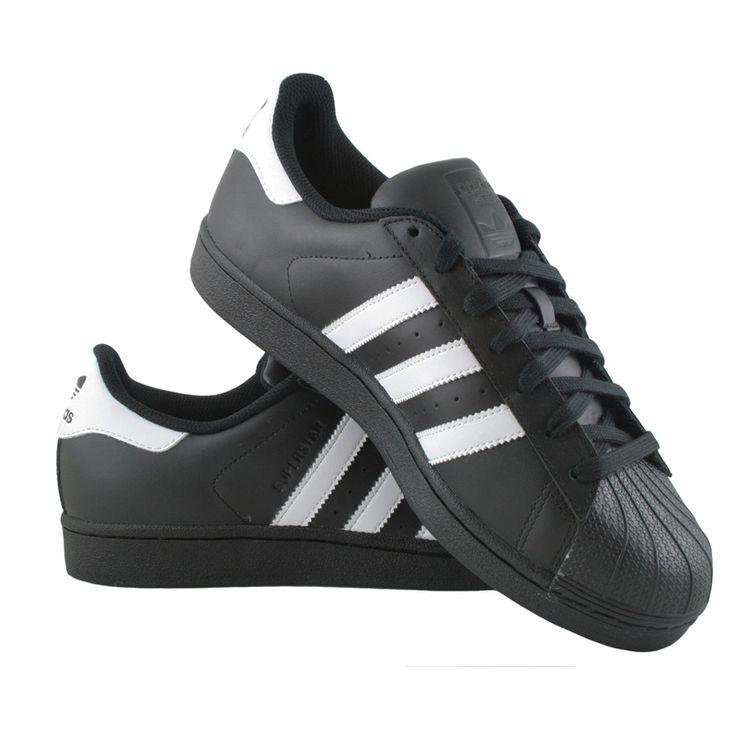 Adidas Superstar Foundation - B27140 - Meskie Obuwie Sportowe. Sportowe  buty w dobrej cenie