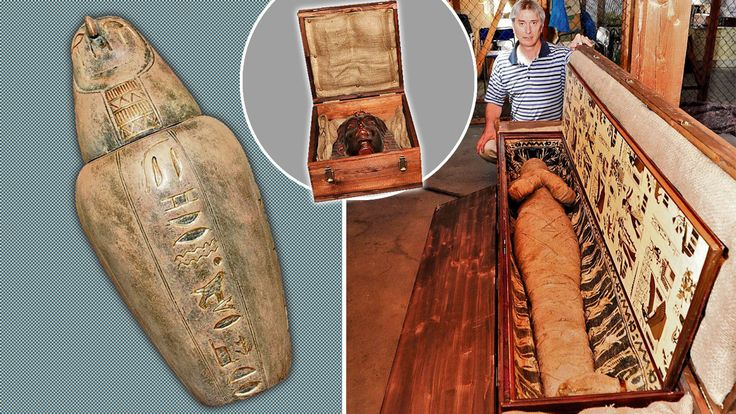 Keine Leiche im Keller: Dieser Zahnarzt hat'ne Mumie auf dem Dachboden