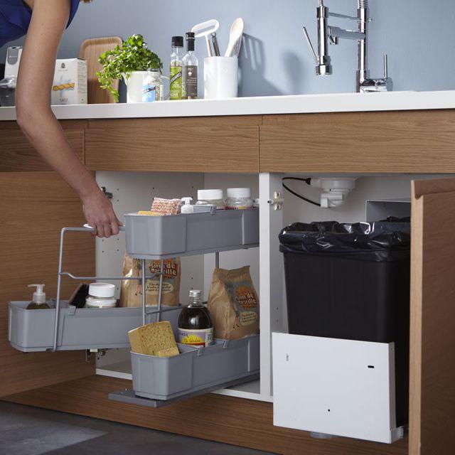 Rangement sous vier Cleaning Agent  4990 CASTORAMA  Cuisine  Rangement sous evier vier