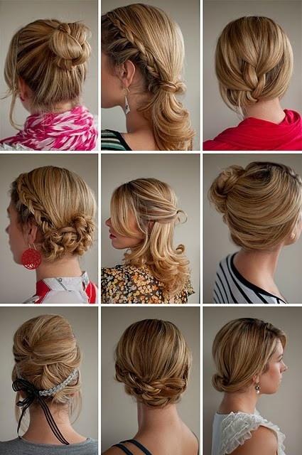 Hair ideas for color guard.