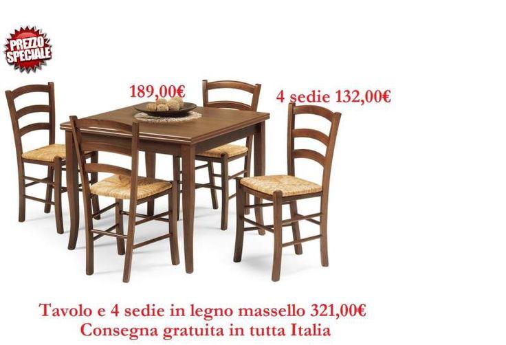95 best Tavoli e sedie in offerta images on Pinterest | Italia ...