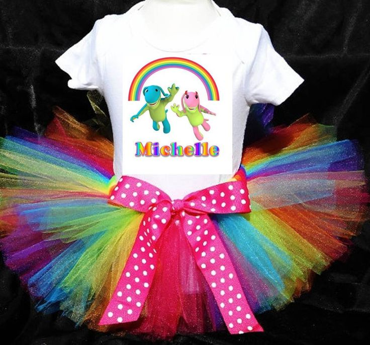 Birthday / Party Outfit - Lollos & Lettie Rainbow 2