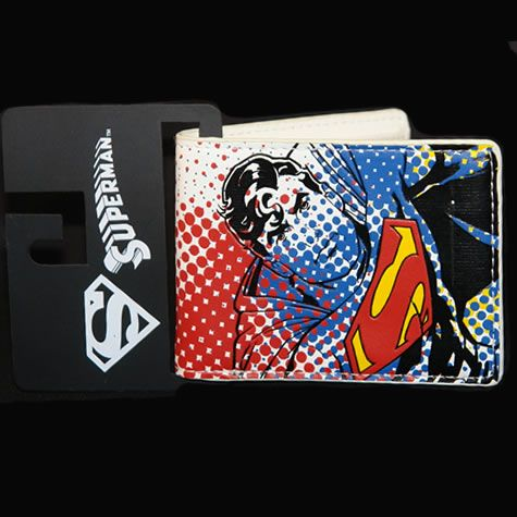 DC Comics Superman Wallet...I want this badly!