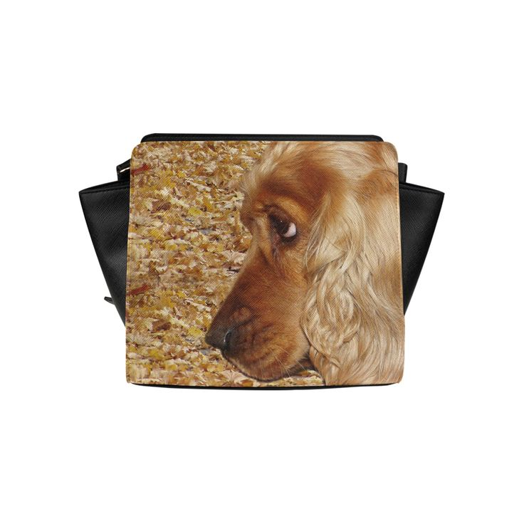 Dog Cocker Spaniel Satchel Bag (Model 1635)