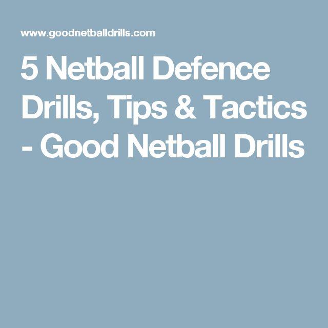 5 Netball Defence Drills, Tips & Tactics - Good Netball Drills