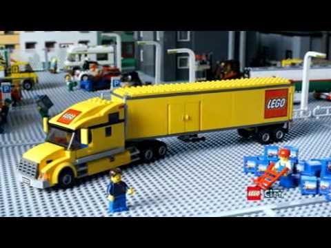 LEGO CITY TRUCK 3221 - YouTube