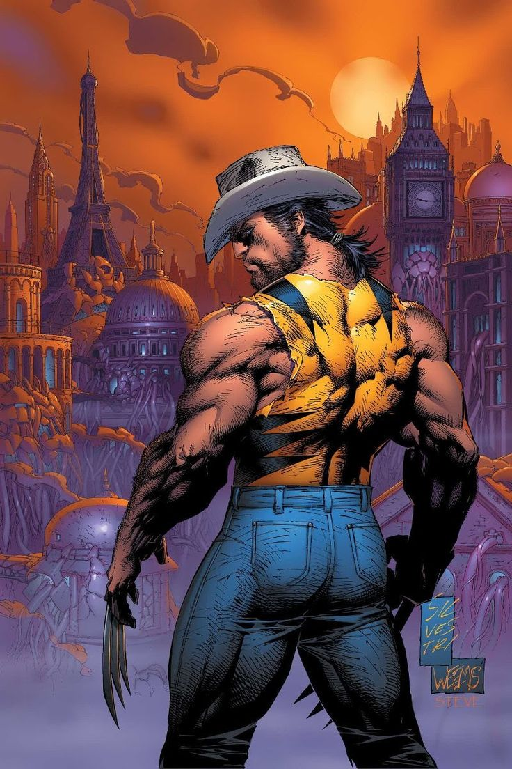 Wolverine by Marc Silvestri - Comic Art by Marc Silvestri