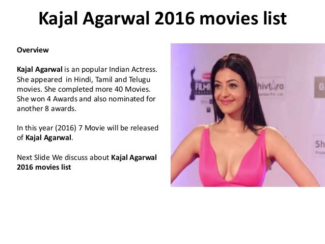 Kajal agarwal 2016 movies list
