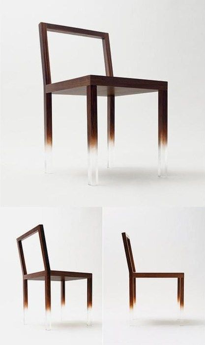 'Fade out chair' from Canadian-Japanese designer Nendo