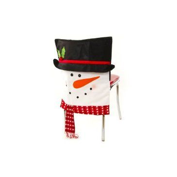 Cracker barrel snowman chair covers