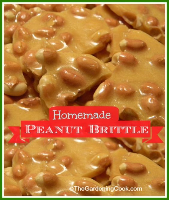 Homemade Microwave Peanut Brittle... 1 cup of granulated sugar, 1/2 cup of light corn syrup, 1 1/2 cups of dry roasted peanuts, 1 tbsp of butter, 1 tsp pure vanilla extract, 1 tsp of baking soda