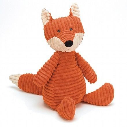 Got my first Jellycat today, the Cordy Roy Fox.  Love