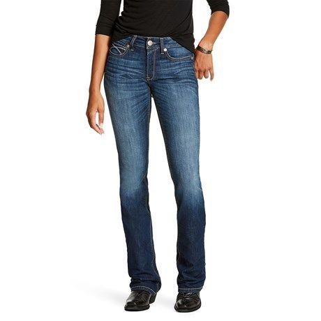 Ariat Women's R.E.A.L. Perfect Rise Jeans Boot Cut Rosa – Lita