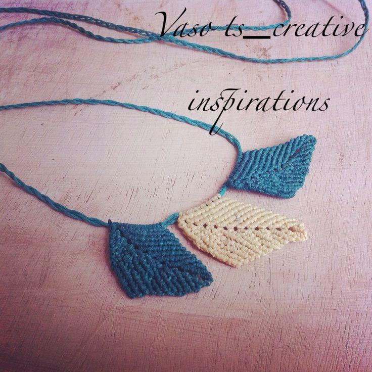 Necklace leaf