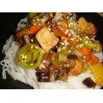 Разные рецепты с тофу.Тофу с имбирем и кунжутом