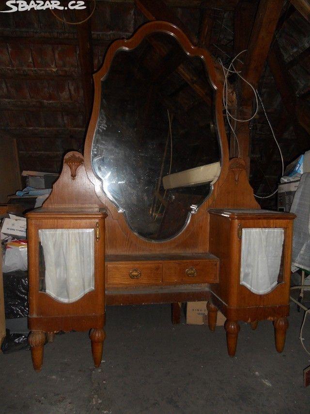 Prodám starožitný nábytek art deco.Na fotkách ještě - obrázek číslo 1