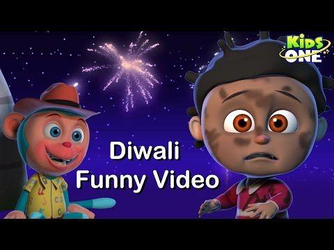 KidsOne Nursery Rhymes: Safe Diwali Happy Diwali 2016 Funny Video