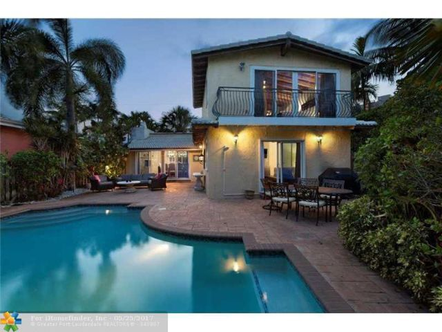 Professionally decorated luxury home directly on the sand on Fort Lauderdale Beach, 4BR/4Bath home for sale.