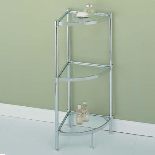 Bathroom Corner Glass Shelves   Buy Corner ...